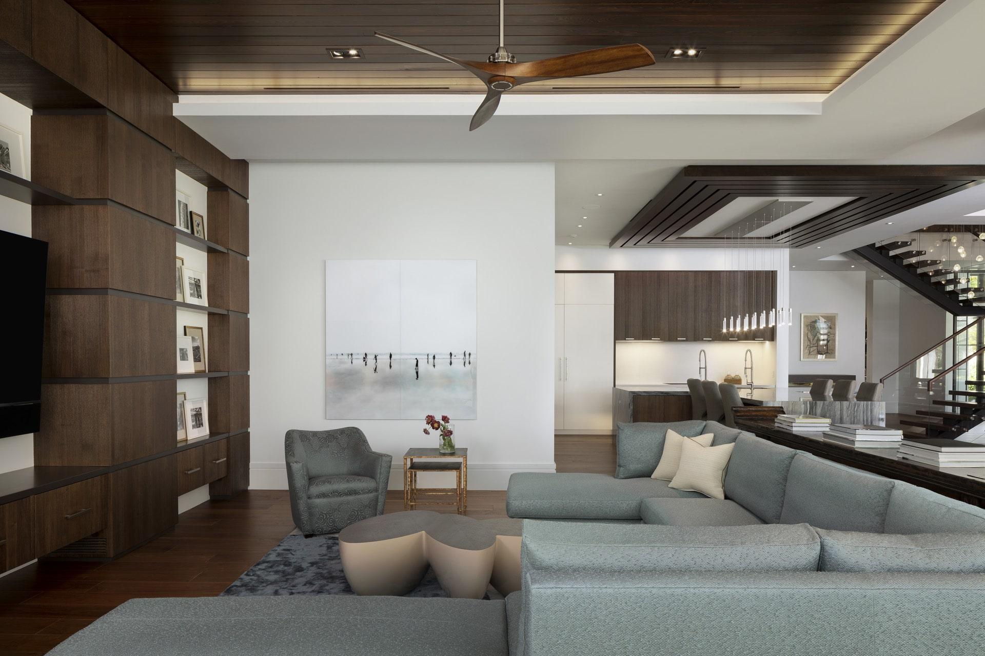 Port Royal Home - Family Room