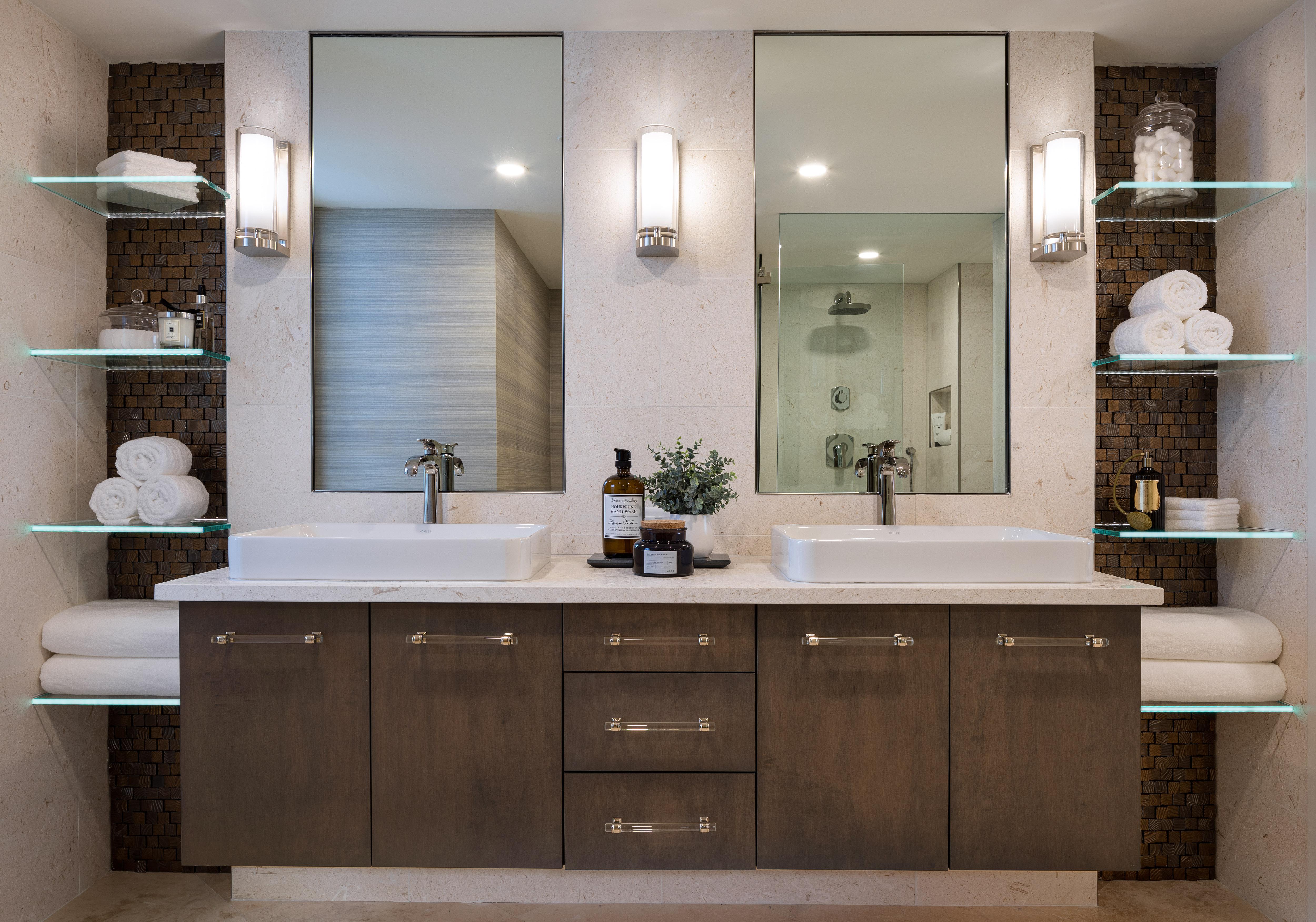 St. Pierre Condo Remodel Guest Bathroom