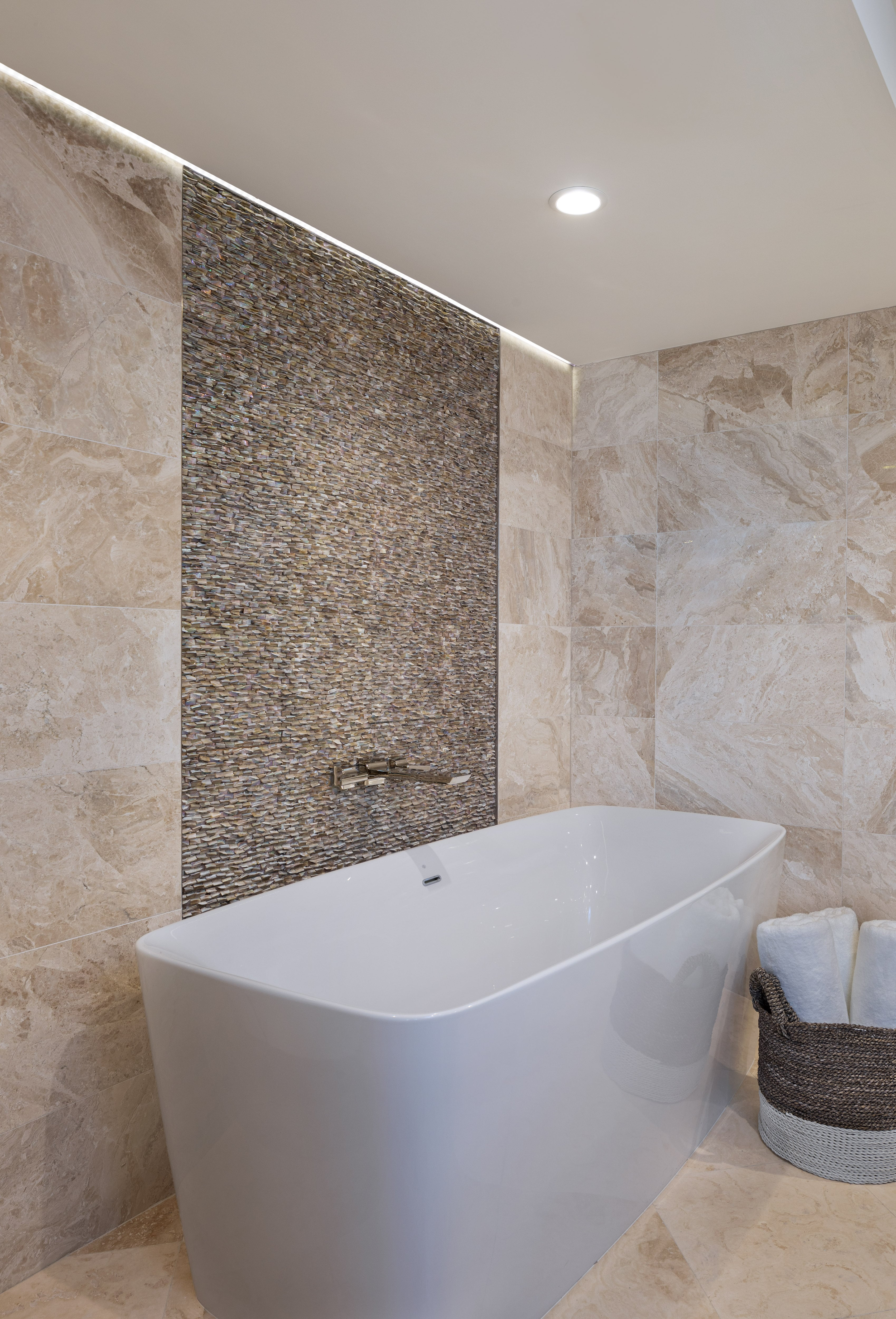 St. Pierre Condo Remodel Master Bath Tub